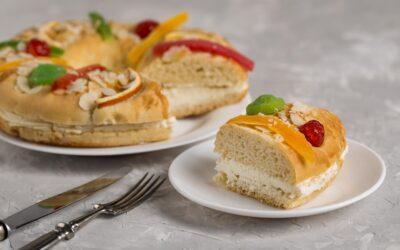Roscón de reyes vs desayuno saludable. Propósito: perder el peso que se engorda en Navidad